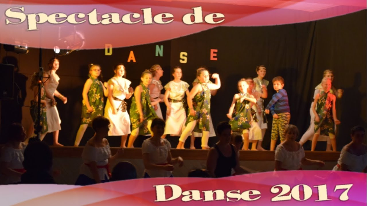 Spectacle de Danse 2017 - Familles Rurales St Pierre des Nids