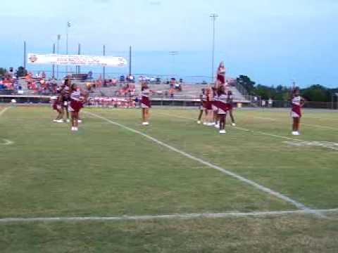Madison County Central School Broncos Cheerleaders