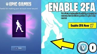 Fortnite: How to Enable 2FA & Get Free Boogie Down Emote