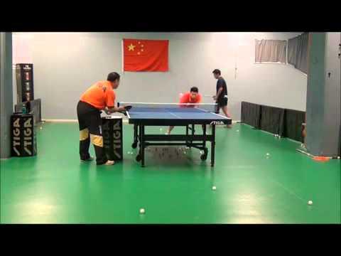 Kỹ thuật giật bóng của MALONG ( Giật bóng trái tay gần bàn )