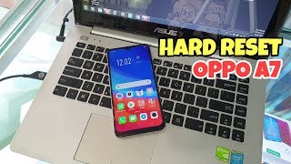 OPPO A7 (2019) RECOVERY MODE / ONLINE CONNECT WIFI / WIPE DATA