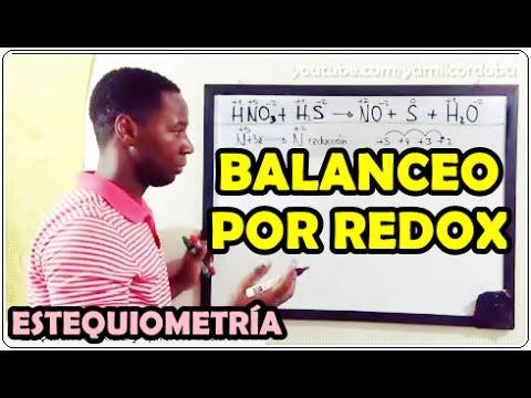 Balanceo de ecuaciones por Redox (Paso a paso)