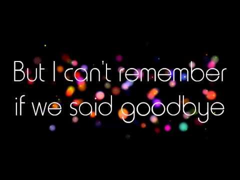 Goodbye - w/ lyrics The Pretenders