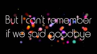 Goodbye - w/ lyrics The Pretenders