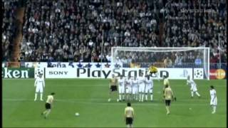 Alessandro Del Piero Vs Real Madrid at the Bernebeu - Champions League 08/09