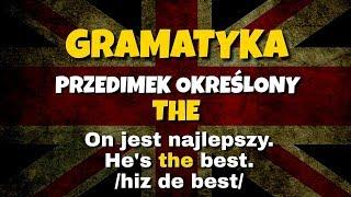 Przedimek określony THE angielski gramatyka