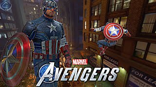 Marvel's Avengers Game - Captain America Free Roam Gameplay!