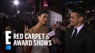Morena Baccarin on the Red Carpet | E! People's Choice Awards