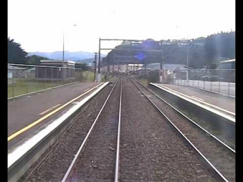 Wellington to Paraparaumu in 5 minutes.