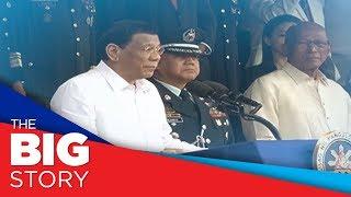 Pres. Duterte tells rape joke, appears sleepy at PMA graduation rites