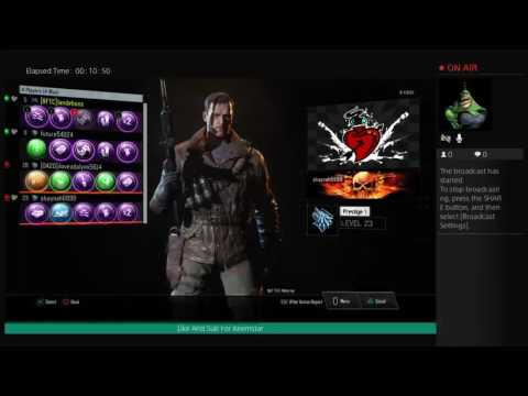 Bo3 Zombies W/Red Moon