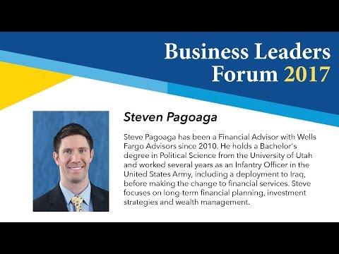 Business Leaders Forum 2017 Fall - Steven Pagoaga