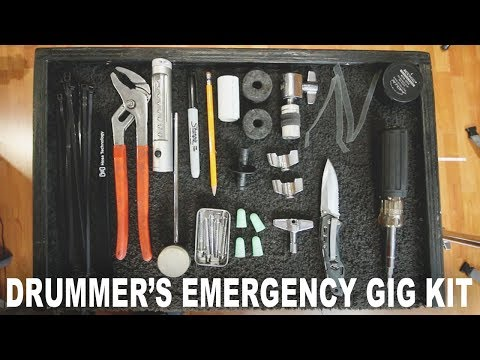 How To Make An Emergency Kit For Your Drum Set