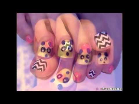 Красивые идеи на ногтях на любой праздник или просто смешные ногти