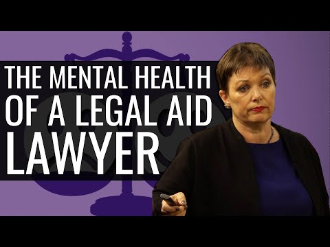 Is a Legal Aid Lawyer's Work all Stress and Distress?