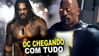 DC VOLTANDO COM TUDO: AQUAMAN, TITANS E SHAZAM!