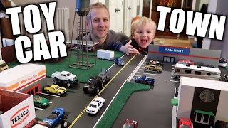 WE BUILT A TOY CAR TOWN 1/64 scale Diorama DIY