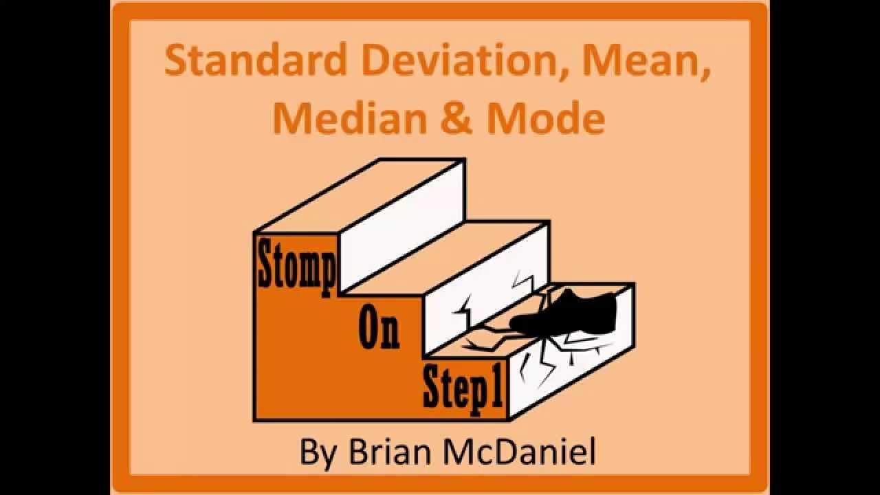 Mean, Median & Mode Robustness, Standard Deviation, Skewed Right Positive  Skew Skewed Left  Youtube