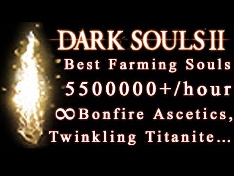 Dark Souls 2 Farming Souls 5500000+ every hour (Unlimited Bonfire Ascetics...)