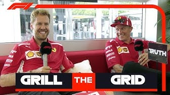 Ferrari's Sebastian Vettel and Kimi Raikkonen | Grill the Grid: Truth or Lie?