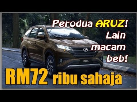 Perodua Latest Model ARUZ ELEVATE YOUR LIFE 2019