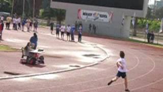 ריצה קצרה 80 מטר - אדוארד פלוטניקוב - סגן אלוף הארץ