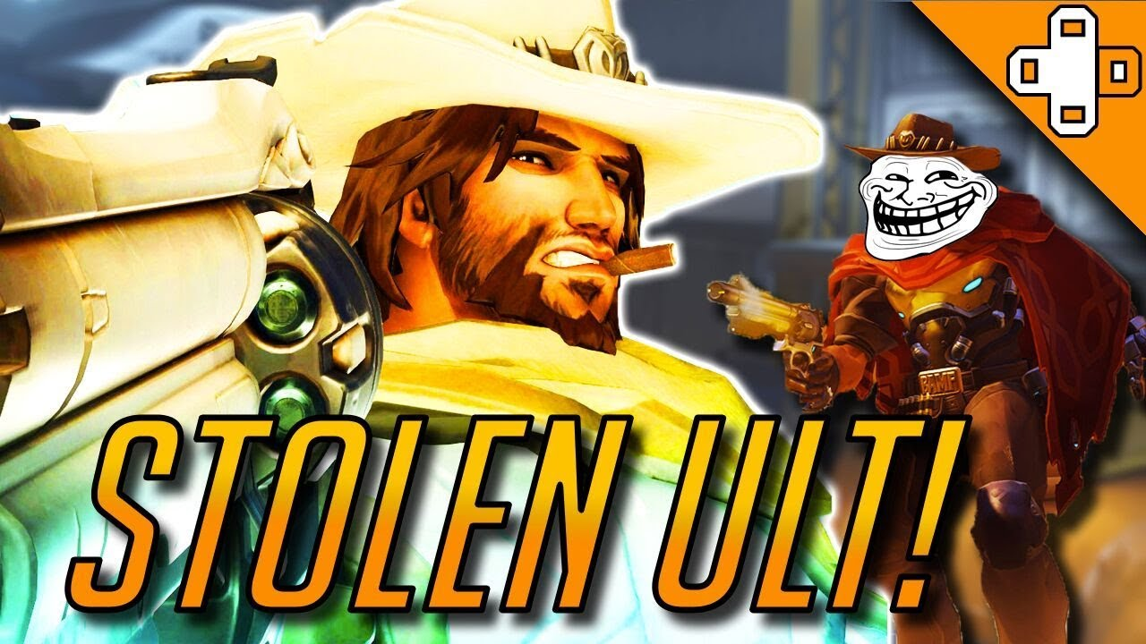 STOLEN ULT! - Overwatch Funny & Epic Moments 346 - YouTube