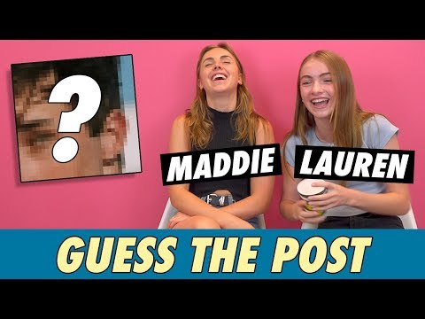 Lauren and Maddie Orlando - Guess The Post