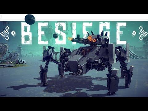 Besiege Best Creations - Walker Mech Tank, Compound Bow, T.A.B.S. & More- Besiege Gameplay Highlight