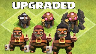 Clash Of Clans - NEW UPGRADED BUILDERS!!! ( October wishlist for Clashcon)