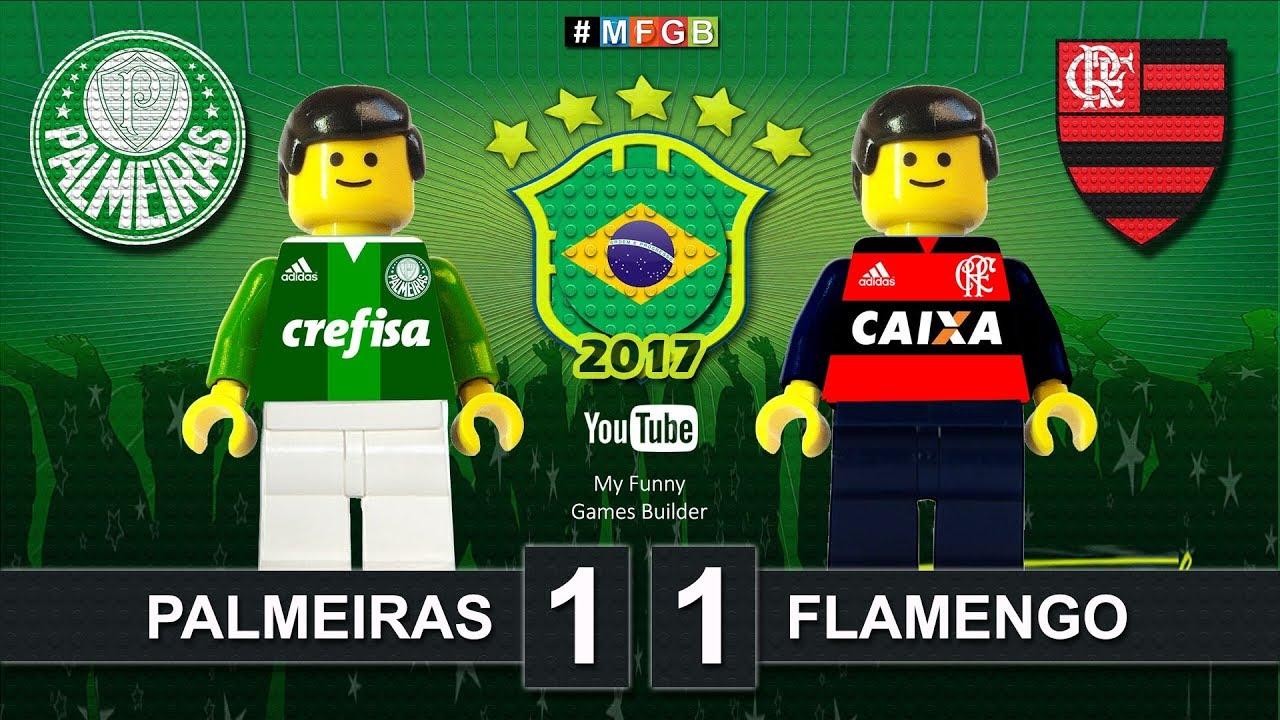 palmeiras 1 x 1 flamengo brasileir o cbf brazil serie a film lego football highlights. Black Bedroom Furniture Sets. Home Design Ideas