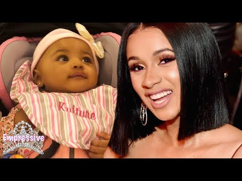 Cardi B reveals her baby girl Kulture! (ADORABLE) Mp3