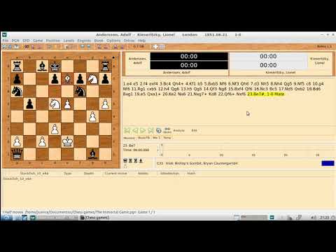 Arena Chess GUI - Opening a PGN file
