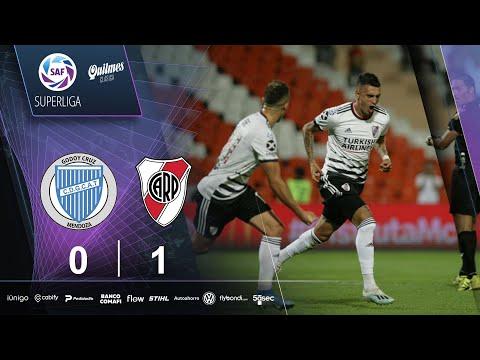 Godoy Cruz Atletico River Plate Goals And Highlights