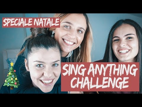 SING ANYTHING CHALLENGE [SPECIALE NATALE] ft. Molli