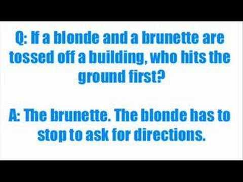 30 Blonde Jokes