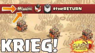 KRIEG gegen #theRETURN! ☆ Clash of Clans ☆ CoC