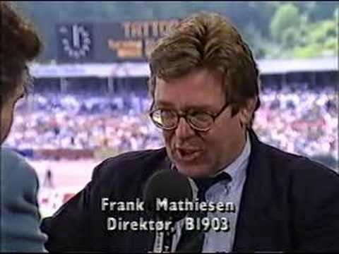 Pokalfinale 1992 AGF - B1903 - Pauseindslag om B1903 (3/5)