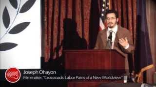 Joseph Ohayon Speech - American INSIGHT's 2013 Free Speech Award for Crossroads