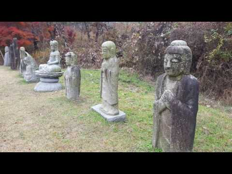 Old Buddhist statues and pagodas in Korea ~