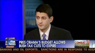 "Paul Ryan on Obama's Bogus Budget -""does nothing"" - ""gimmicks"""