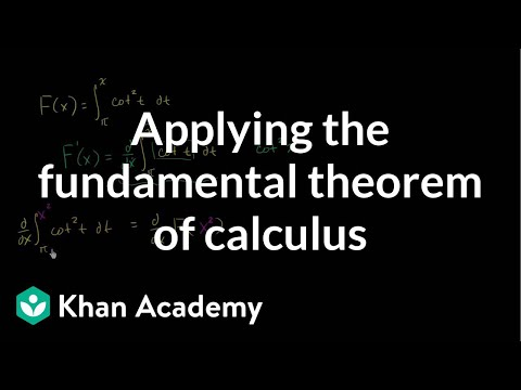 Worked example: Finding derivative with fundamental theorem of calculus | Khan Academy
