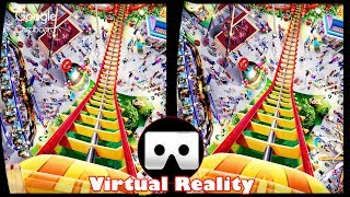 3D Roller Coasters - VR Virtual Reality Vídeo Google Cardboard VR Box