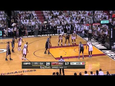Tim Duncan Full Highlight vs Heat Game 3 14 PTS , 6 REB