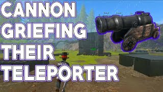 FARMING BULLETS WITH A CANNON !   Official 6 Man   ARK Survival Evolved Gameplay
