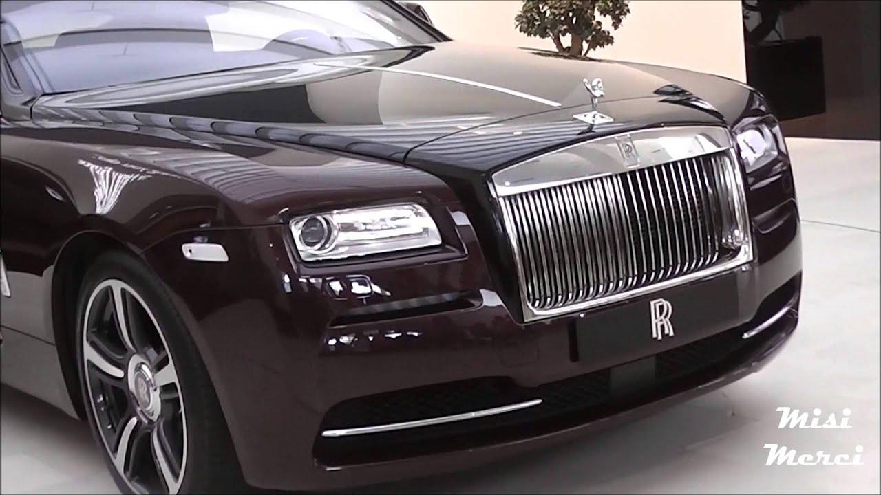 Rolls-Royce Wraith Purple/Black - Details