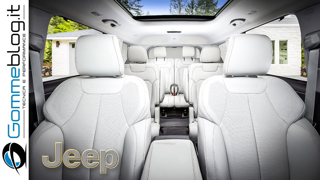 2022 JEEP Grand Cherokee L - INTERIOR + TECH FEATURES