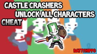 Castle Crashers - Unlock All Characters Cheat[PC]