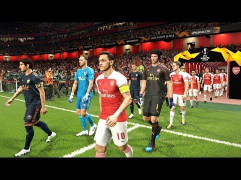 PES 2019 | Arsenal vs Valencia Europa League 2 May 2019 Gameplay