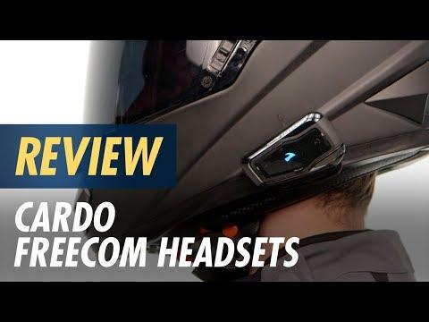 Cardo Freecom Headsets Review At CycleGear.com